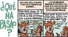 El conflicto de los mineros