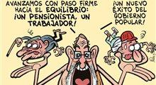 Dos trabajadores un pensionista