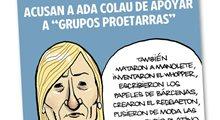 Ada Colau es de lo peor, dicen en el PP