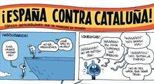¡España contra Cataluña!