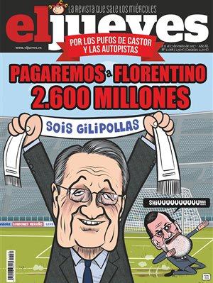 Pagaremos a Florentino 2.600 millones