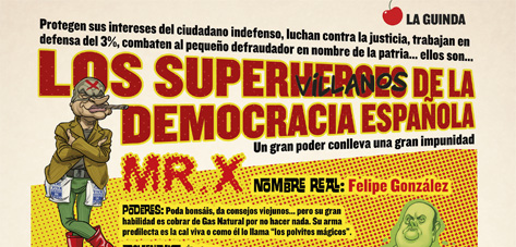 Los Supervillanos de la Democracia española