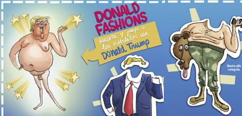 Donald Trump: viste a tu princesa