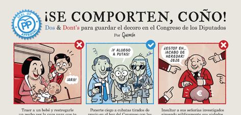 Cómo comportarse en el Congreso