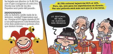 Los presupuestos de Rajoy