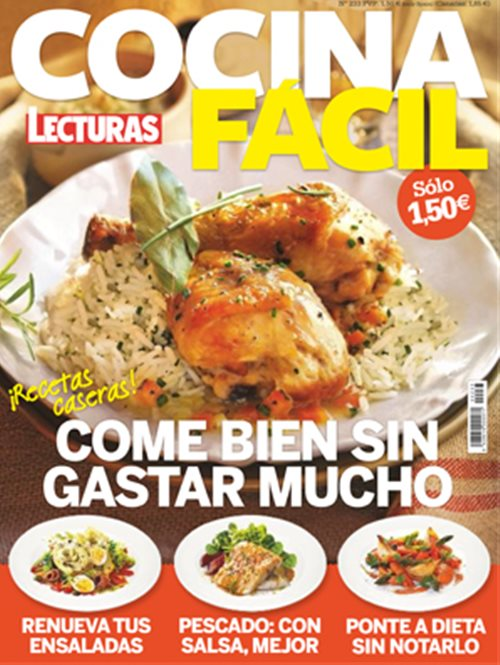 Bonito cocina facil revista im genes cocina diaria y - Revista cocina facil lecturas ...