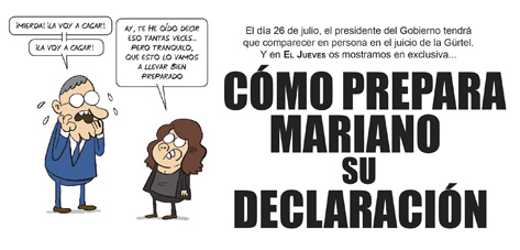 ¿Cómo prepara Mariano su declaración?