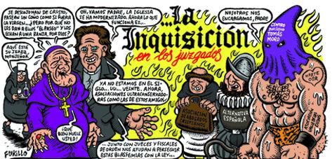 Inquisición en los juzgados