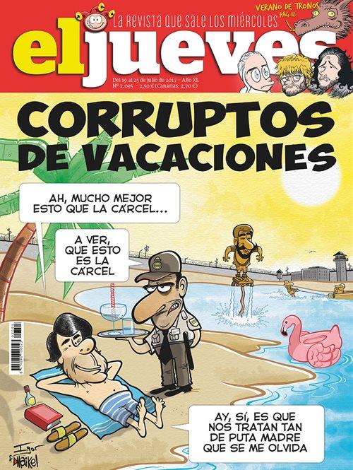 Corruptos de vacaciones
