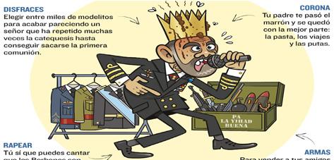 Guía para ser Rey de España